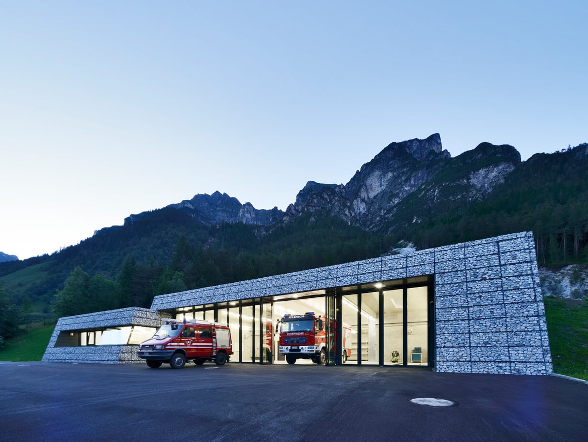 Project Firehouse Pflersch, Civil defence center Antholz | South-Tyrol